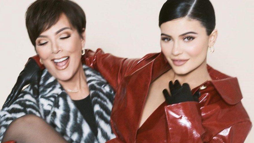 Kylie, Kris Jenner ve Stormi Harper's Bazaar dergisine kapak oldu