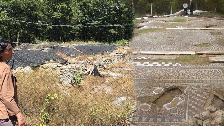 Bin 500 yıllık tarihi yapı bakımsızlıktan dökülüyor...