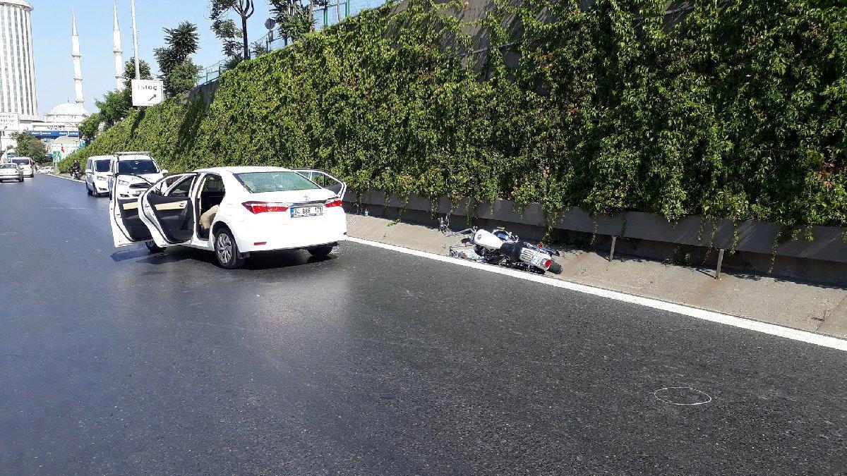 TEM'de trafikte dehşet! Herkesin gözü önünde öldürdü