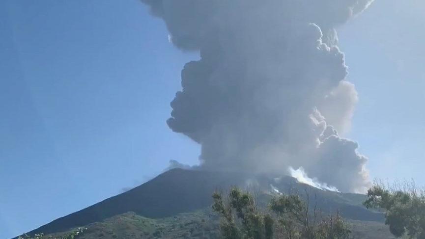 İtalya'da yanardağ patlaması: 1 ölü 2 yaralı