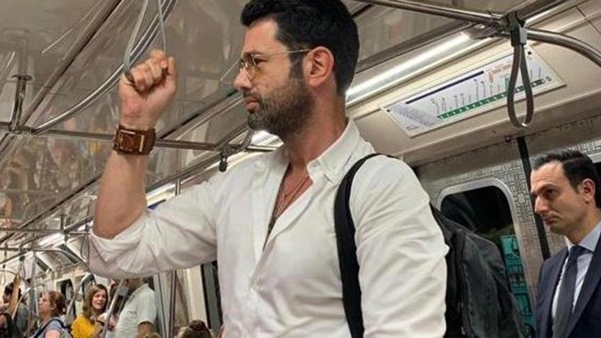 Keremcem'in imdadına metro yetişti