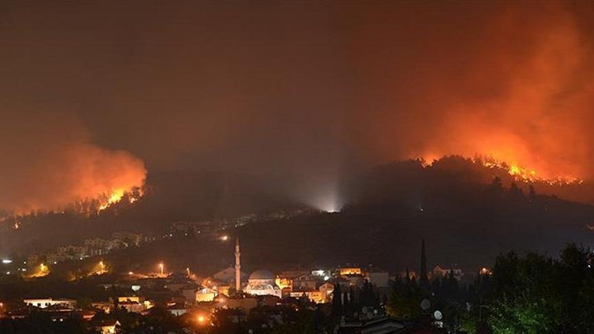 20 günde 200 orman yangını