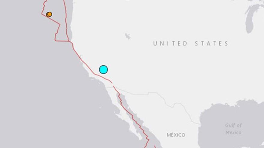 Son dakika haberi... ABD'de 6.4 büyüklüğünde deprem!