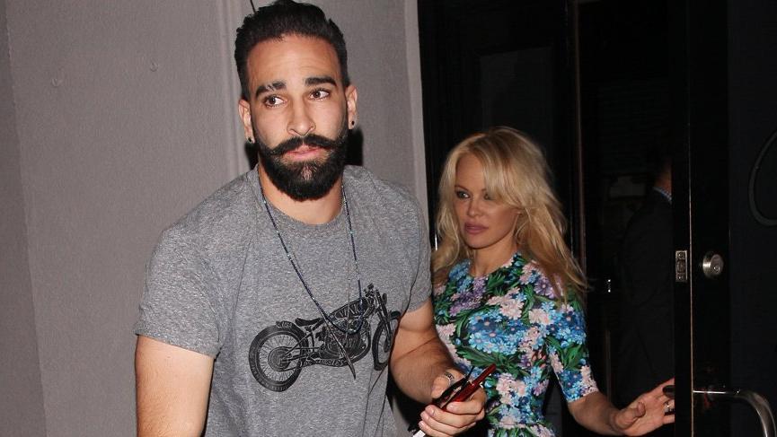 Pamela Anderson, Adil Rami'den şiddet gördüğünü iddia etti