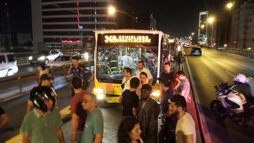 Son Dakika... İstanbul Mecidiyeköy'de metrobüs kazası