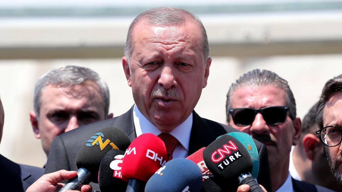 Cumhurbaşkanı Erdoğan'dan yeni parti sorusuna yanıt