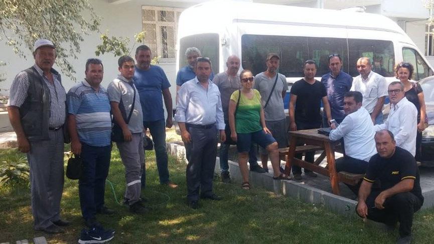 Bergama'da işçiler sendika değiştirmeye zorlandı, sendika temsilcileri karakolluk oldu