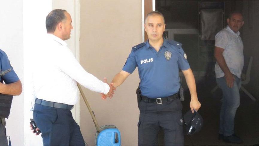 O polis görevden alındı