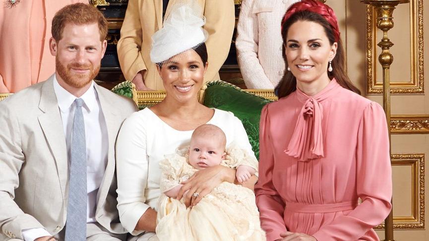 Kate Middleton'ın vaftiz töreninde giydiği pembe elbisesi tepki çekti