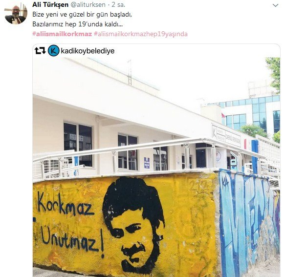 Sanatçılar, Ali İsmail Korkmaz'ı unutmadı 5