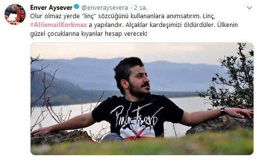 Sanatçılar, Ali İsmail Korkmaz'ı unutmadı 3