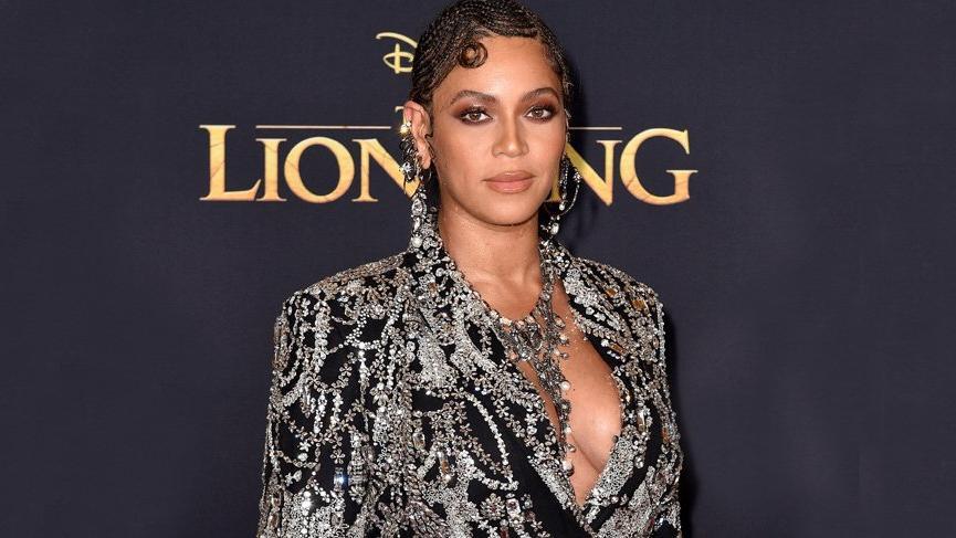 Beyonce Aslan Kral galasına katıldı