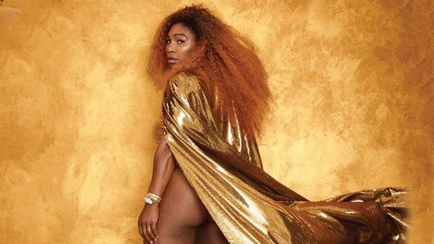 Serena Williams'tan cesur pozlar