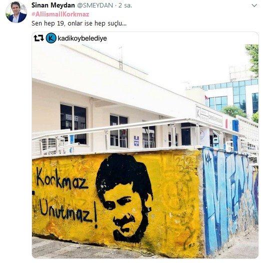 Sanatçılar, Ali İsmail Korkmaz'ı unutmadı 4