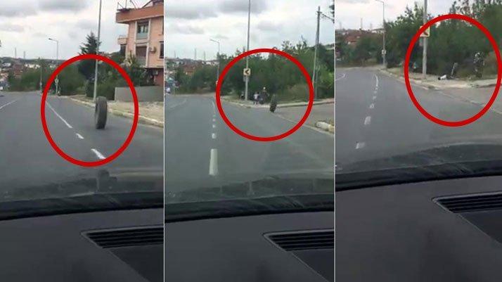 İstanbul'da dehşet anı böyle görüntülendi