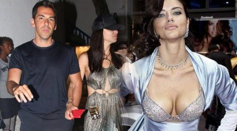 Adriana Lima yeni aşkı Emir Uyar'la tatilde