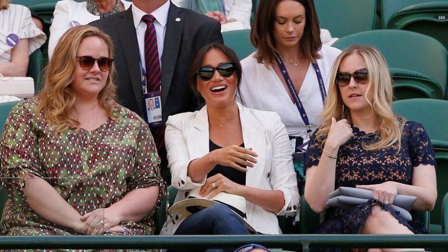 Meghan Markle'ın Wimbledon'da protokole uymaması tepki çekti