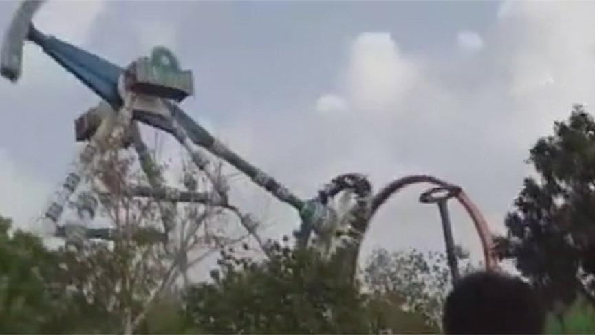 Hindistan'da lunaparkta kaza: 3 ölü, 28 yaralı