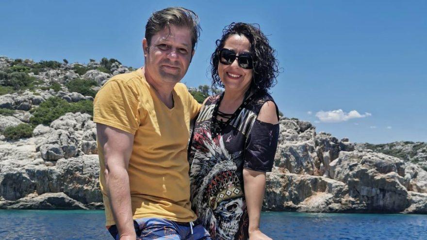 Akdeniz'in mavi sularında tatil keyfi