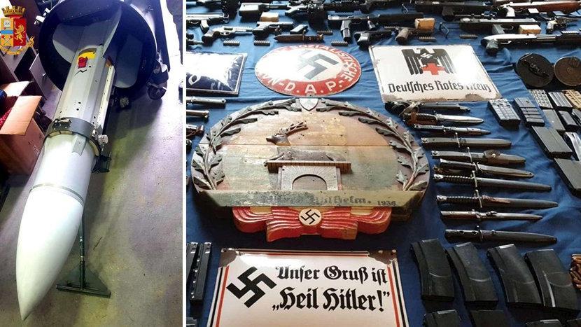 Nazilerin evinden füze çıktı!