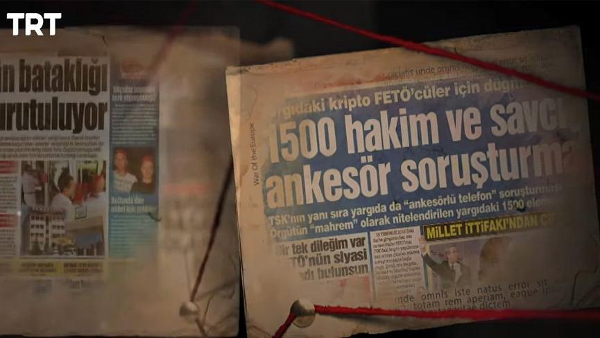 FETÖ'cülükle suçlanan SÖZCÜ, FETÖ ile mücadele belgeselinde