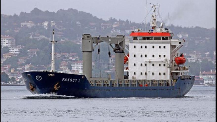 Nijerya'da korsanlar Türk gemisine saldırdı, ilk görüntüler geldi