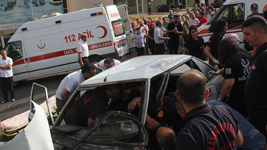 Kahramanmaraş'ta feci kazada can pazarı