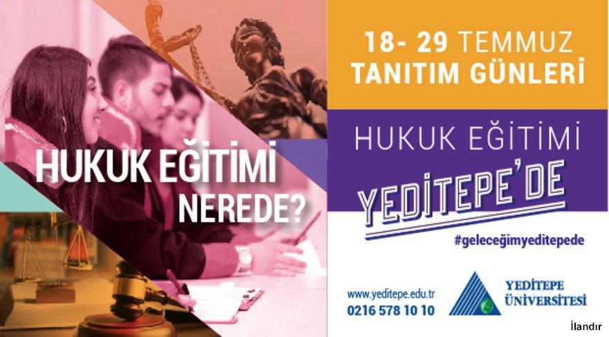 Yeditepe Manşet Advertorial 18 Temmuz'19