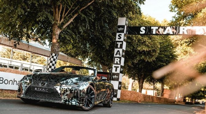 Lexus LC üstsüz üretilecek!