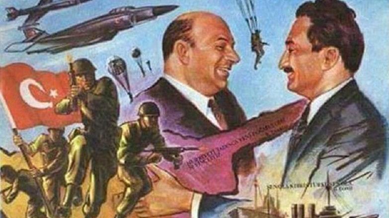 """Kıbrıs Barış Harekatı'nın 45. yıl dönümü! """"Ayşe Tatile çıktı"""" ile ..."""