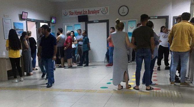 Tekirdağ'da 45 kişi hastaneye kaldırıldı!