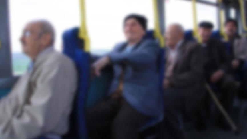 Halk otobüsünde elle tacize 2 yıl 1 ay ceza!