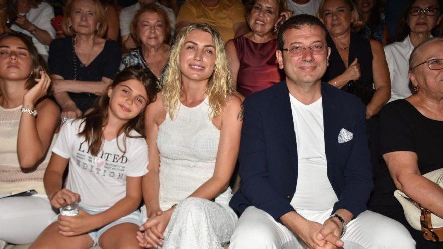 Ekrem İmamoğlu Bodrum'da Zülfü Livaneli konserinde…