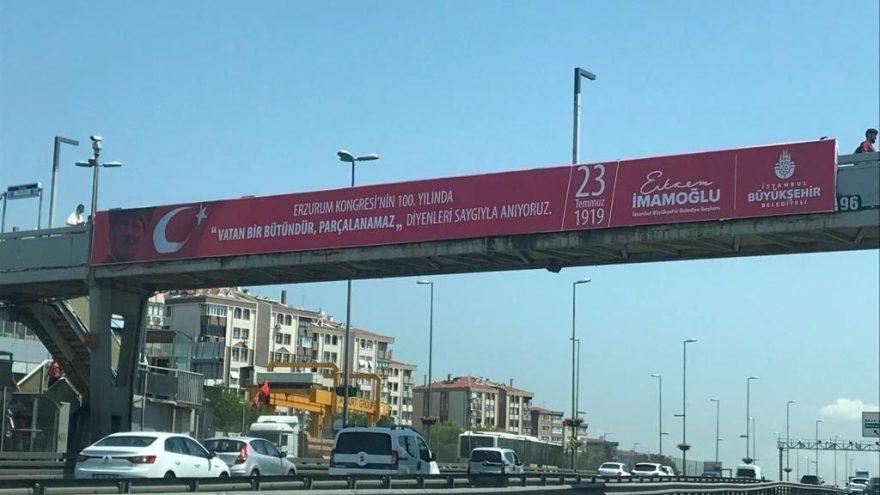 Ekrem İmamoğlu Erzurum Kongresi afişleri ile ilgili görsel sonucu