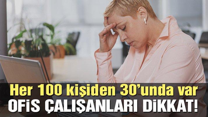 Sokaktaki 100 kişiden 30'u migren hastası