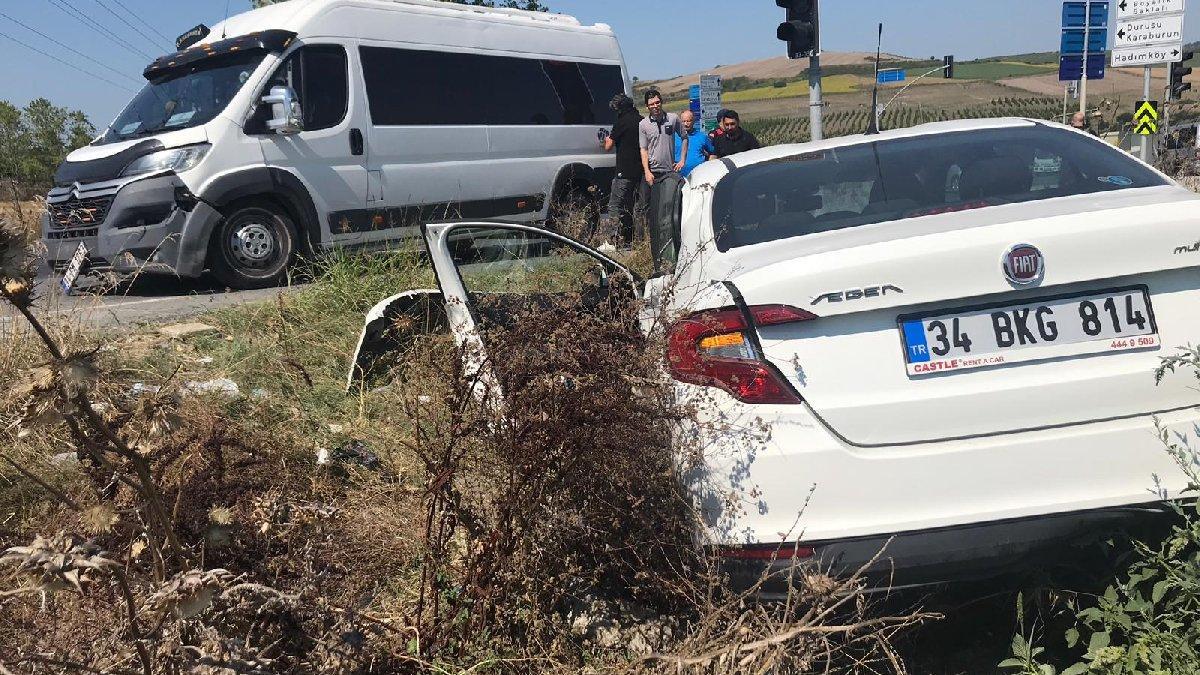 İstanbul'da feci kaza! 4 kişi yaralandı