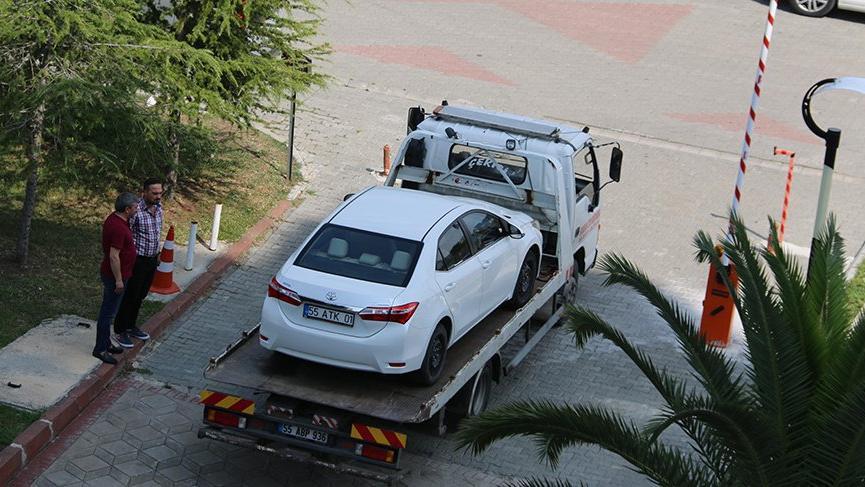 AKP'den CHP'ye geçen belediye şirketine haciz geldi!