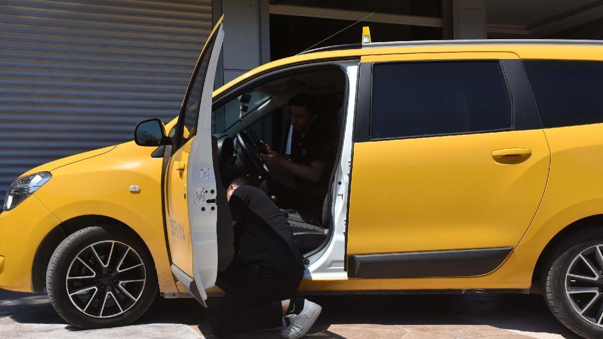 İzmir'de taksilerde kamera zorunluluğu kalktı