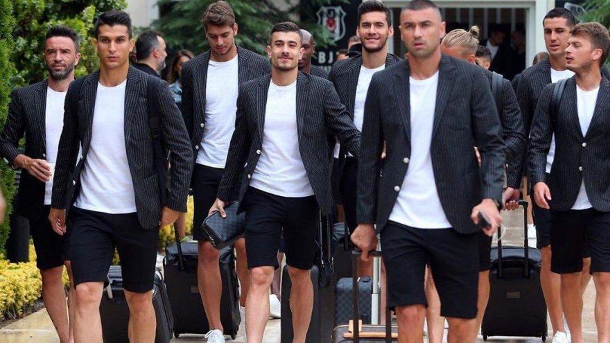 Beşiktaşlı futbolcuların şortlu takımları tartışma konusu oldu