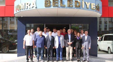 Mansur Yavaş'tan Yomra Belediyesine ziyaret