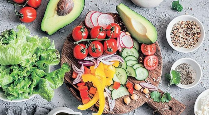 Colorful nutrition for lung cancer