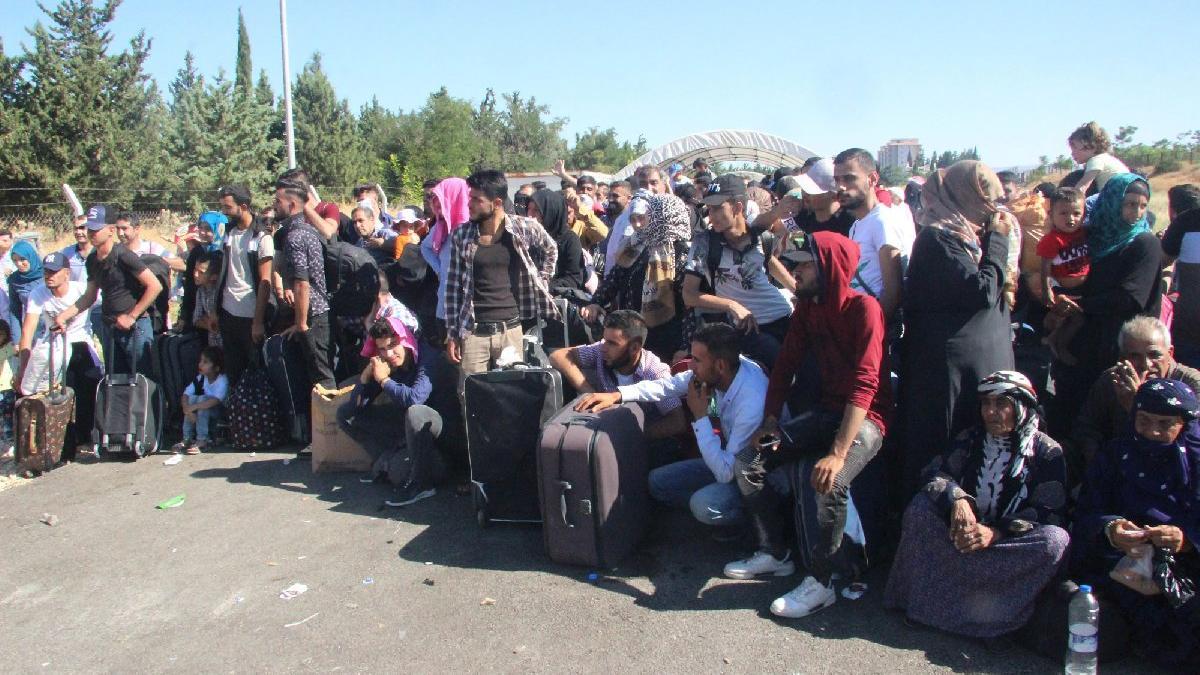 Suriyeliler bayram tatili için ülkesine gitti