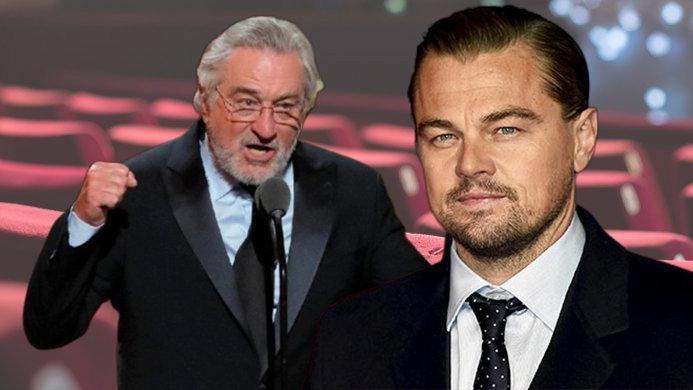 DiCaprio ile De Niro aynı filmde buluşuyor