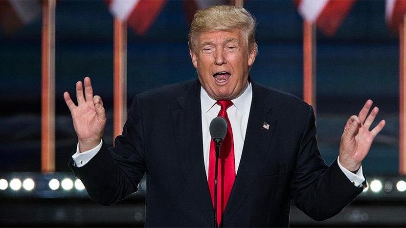 Trump: Dünyadaki en az ırkçı kişi benim