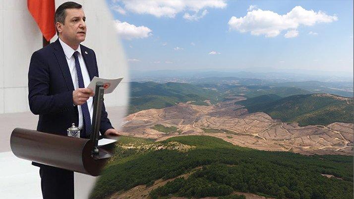 CHP'li Ceylan: Kaz Dağları'ndaki katliamın sponsoru Erdoğan