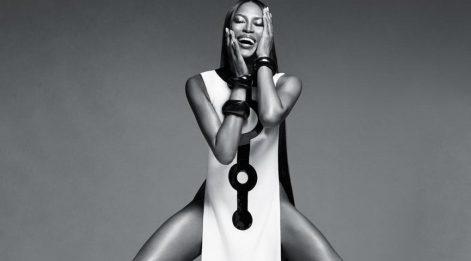 Naomi Campbell ten rengi nedeniyle Fransa'da otele alınmadı