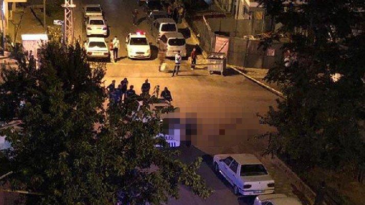 Başkent'te sokak ortasında korkunç cinayet