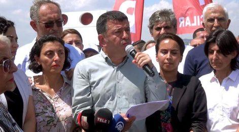 CHP'li vekillerden Eren Erdem'e destek
