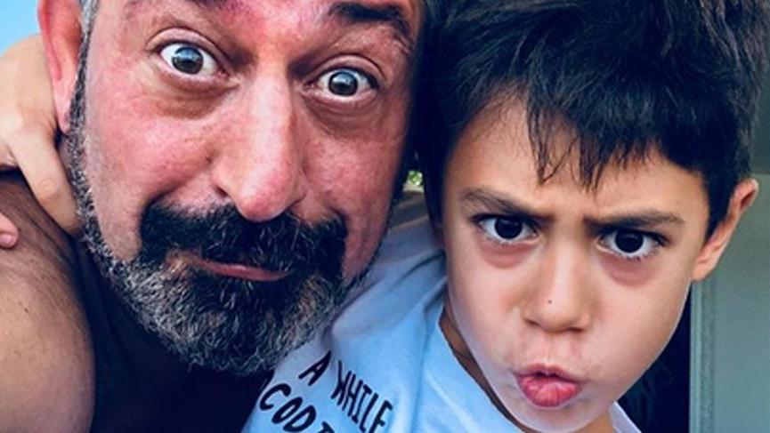Cem Yılmaz oğlu Kemal'in doğum gününü kutladı