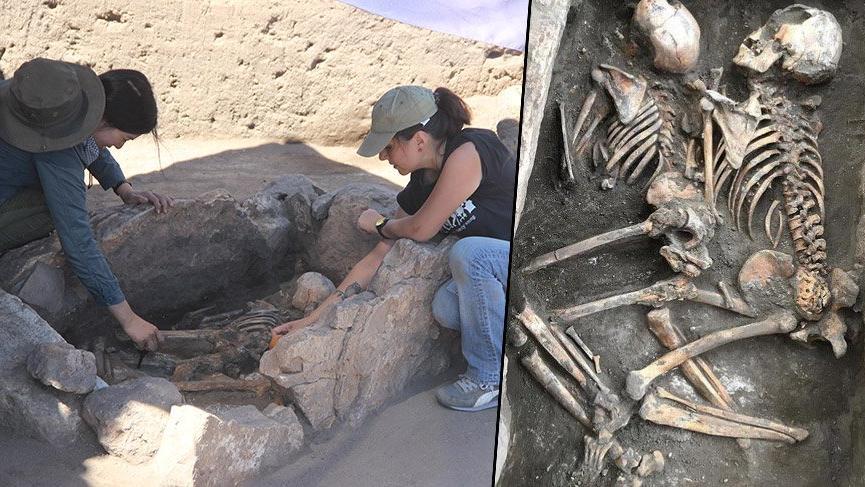 Eskişehir'de 5 bin senelik insan iskeleti bulundu